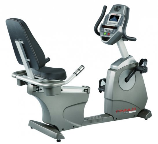 FINNLO MAXIMUM SERIES RECUMBENT BIKE webg